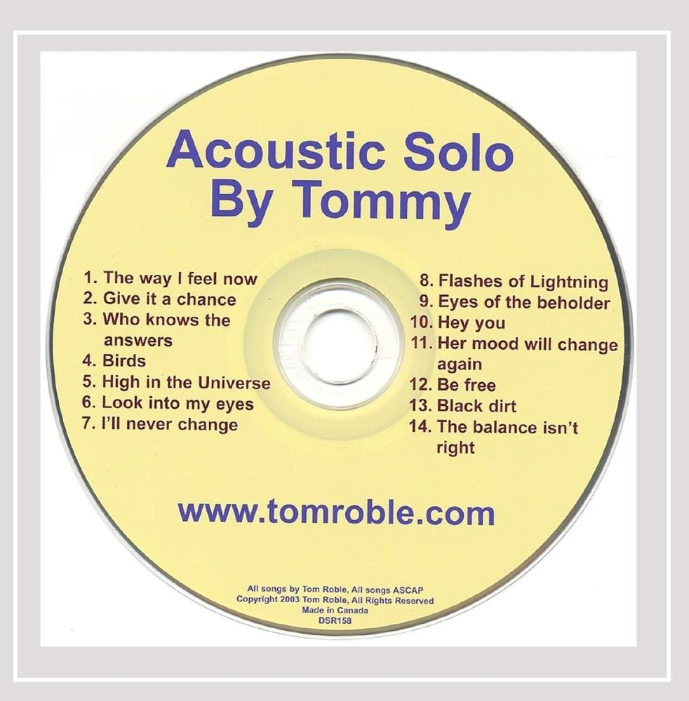 Acoustic Regular discount Solo By Tommy 55% OFF