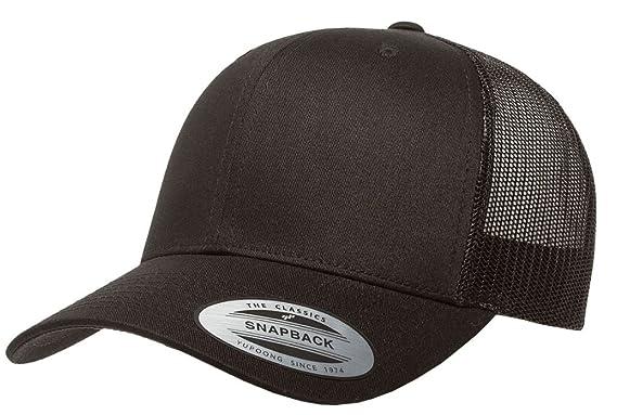 ad4caa0c6ba52 Amazon.com  Yupoong - Retro Trucker Cap - 6606  Clothing