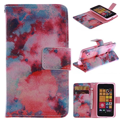 530 Case Nokia 530 Case Nokia 530 Kickstand Case,Bat King Beautiful Evening Glow Pattern Premium Leather Wallet Flip Kicstand Case Cover With Magnetic Closure For Nokia Lumia 530 (Phone Case For A Nokia Lumia 530)