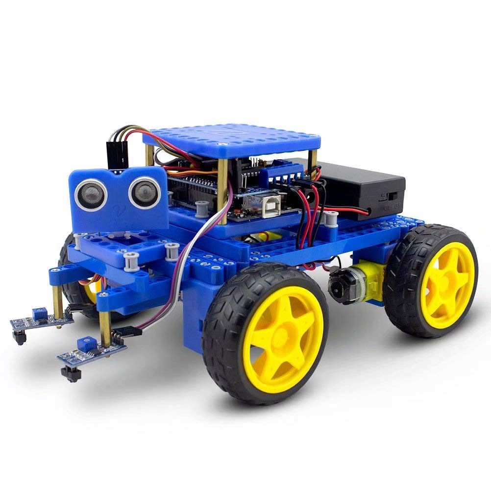 BeGrit VeeDooo Programmable Smart Robot Car Kit UNO Project DIY Educational Toy STEM Gifts