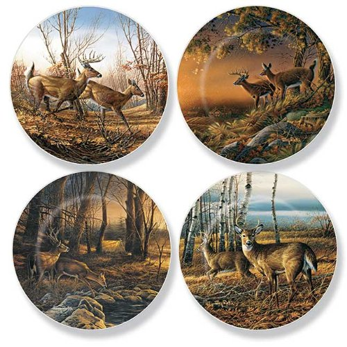 Deer Mini Collector Plates by Terry Redlin