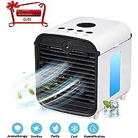 ZEHNHASE Mini Aire Acondicionado portátil, humidificador Multifuncional