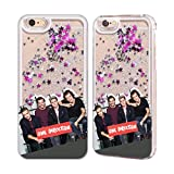 one direction case for iphone 6 - Official One Direction GP4 Group Photos Silver Liquid Glitter Case Cover for Apple iPhone 6 / 6s