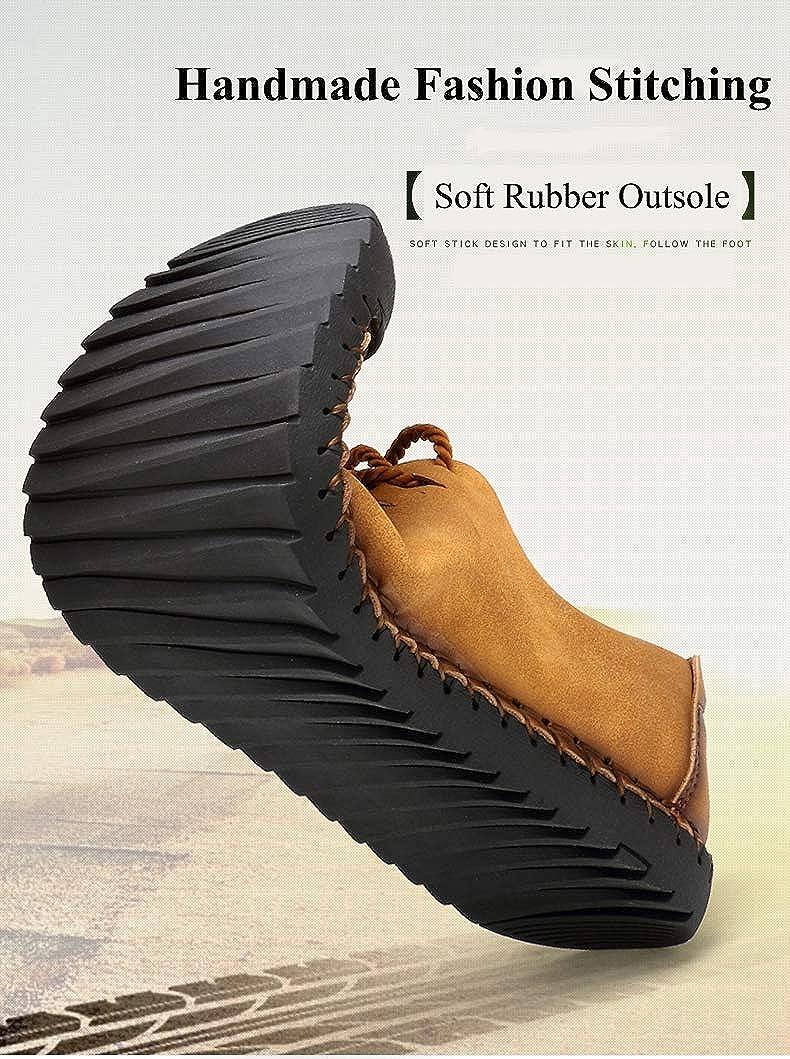 Mocassins pour Hommes Chaussures Tout-Aller d/écontract/ées Slip on Mocassins L/ég/ères Oxford Boat Walking Chaussures de Conduite pour Hommes