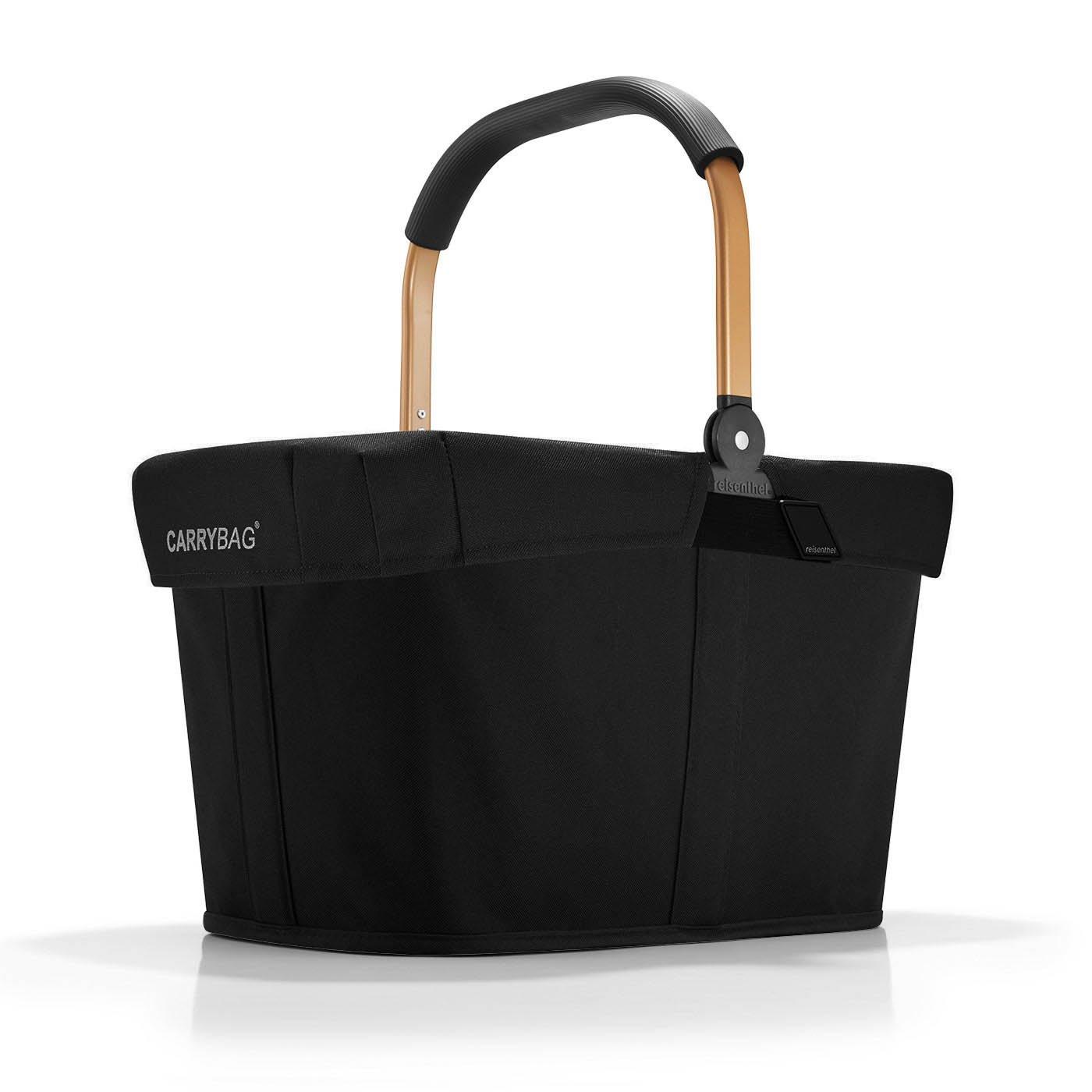 reisenthel carrybag Frame Gold Henkel Einkaufskorb + Cover Abdeckung schwarz REISENTHEL ACCESSOIRES