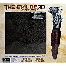 The Evil Dead Anthology - 4 Films (Book of the Dead & Kandarian Replica Prop) - 6-Disc Box Set ( The Evil Dead / Evil Dead II (Evil Dead 2) / Army of Darkness / Evil Dead (2013) ) [ Origine