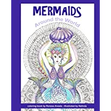 Mermaids Around the World (Adult Coloring Book) (Volume 1)