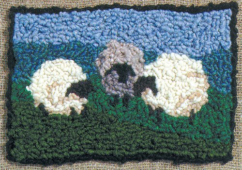 Harrisville Designs Traditional Rug (Hooked Rug Kits)
