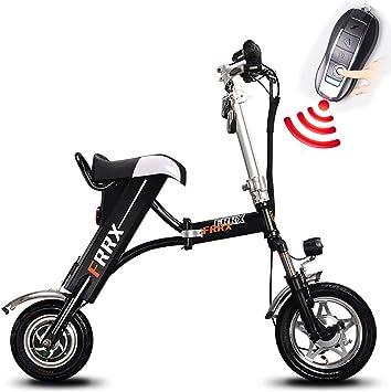 FJW Unisexo Bicicleta electrica 36V 250W Bicicleta de 12 Pulgadas ...