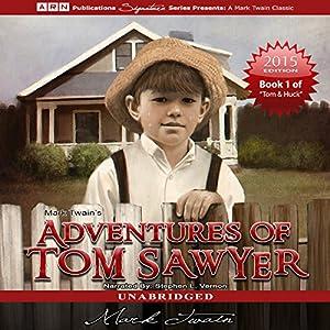 Adventures of Tom Sawyer: Tom Sawyer & Huckleberry Finn Series, Book 1 Audiobook