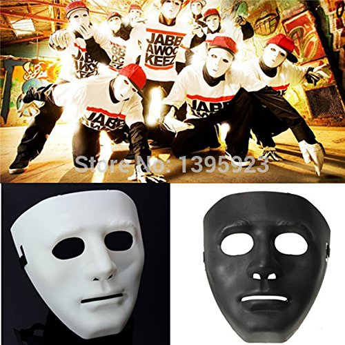 Hot Horror Adult MEN Drama Costume Face Masks for Halloween Party Dance 2 Colors -