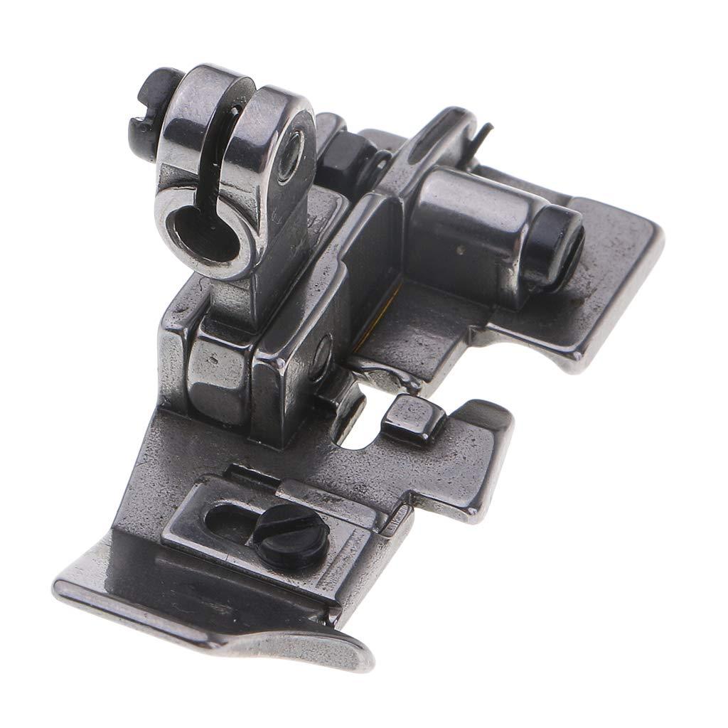 Plata 31x10x31mm B Baosity Pie de Caminar Prensatelas Dobladillas de M/áquina de Coser Accesorio