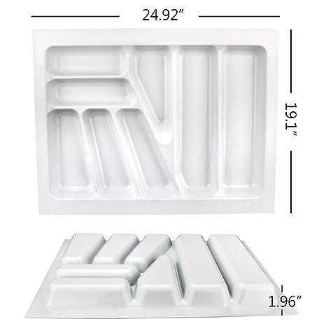 Bandeja para cubiertos con 9 compartimentos de plástico ABS ...