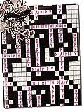 30'' X 15' Happy Birthday Crossword Gift Wrap