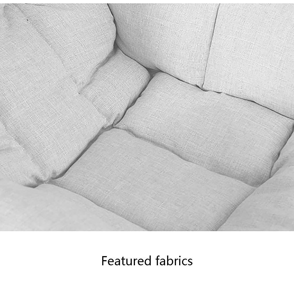 Liten pall Lazy Sofa Nursing Glider stol fåtöljer kreativ enkel soffa och fotpall mini dator stol sovrum enkel sovsal avtagbar och tvättbar hopfällbar stol e