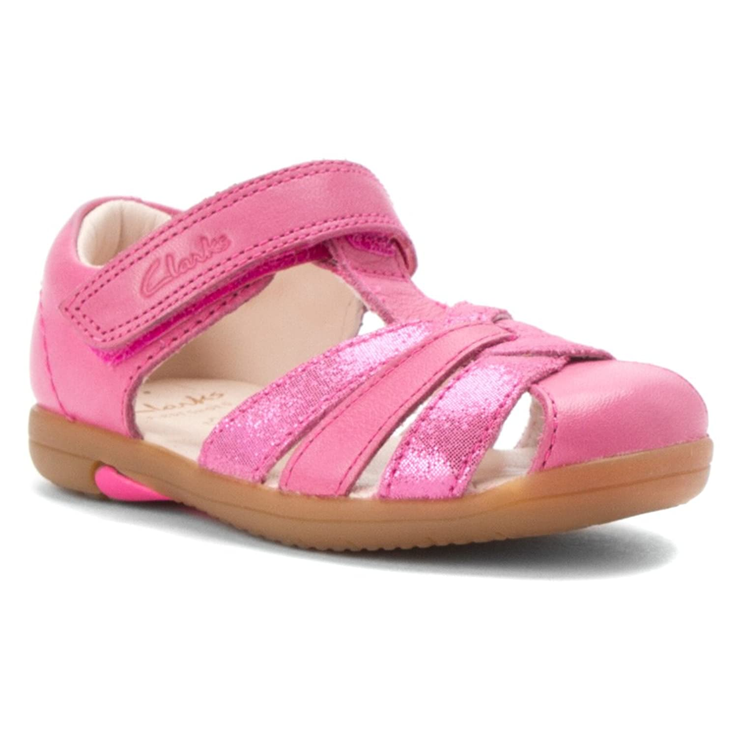 clarks baby sandals size 3