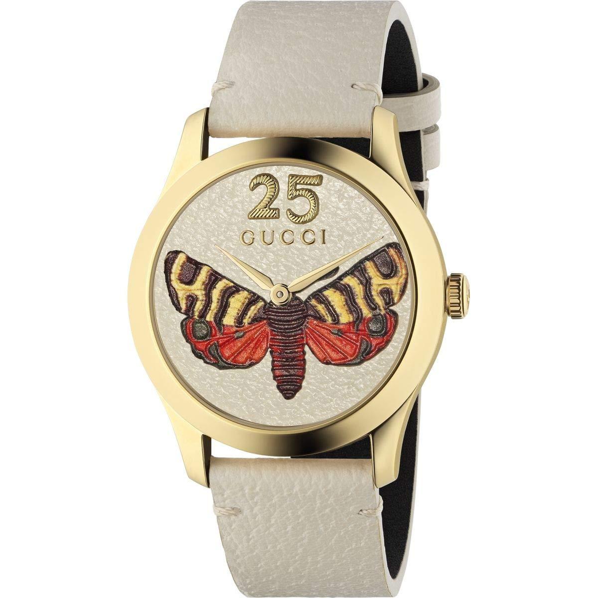 17dc80aa3c7 Amazon.com  Gucci G-Timeless 38 mm YA1264062  Watches