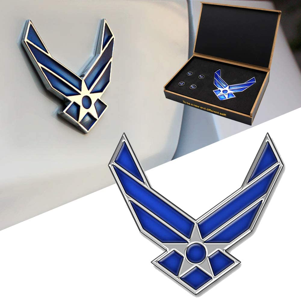 US Air Force 3D Metal Premium Car Emblem Badge