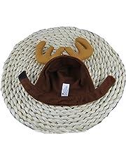 Xiton 1pcs Diadema Perros Cuernos Cap Mascotas Suministros Perro Gato  Sombrero Ciervo Sombreros Teddy Perro Cuernos 18c69b33c0ca
