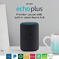 Deals on Echo Plus (2nd Gen) Bundle with Philips Hue Bulb