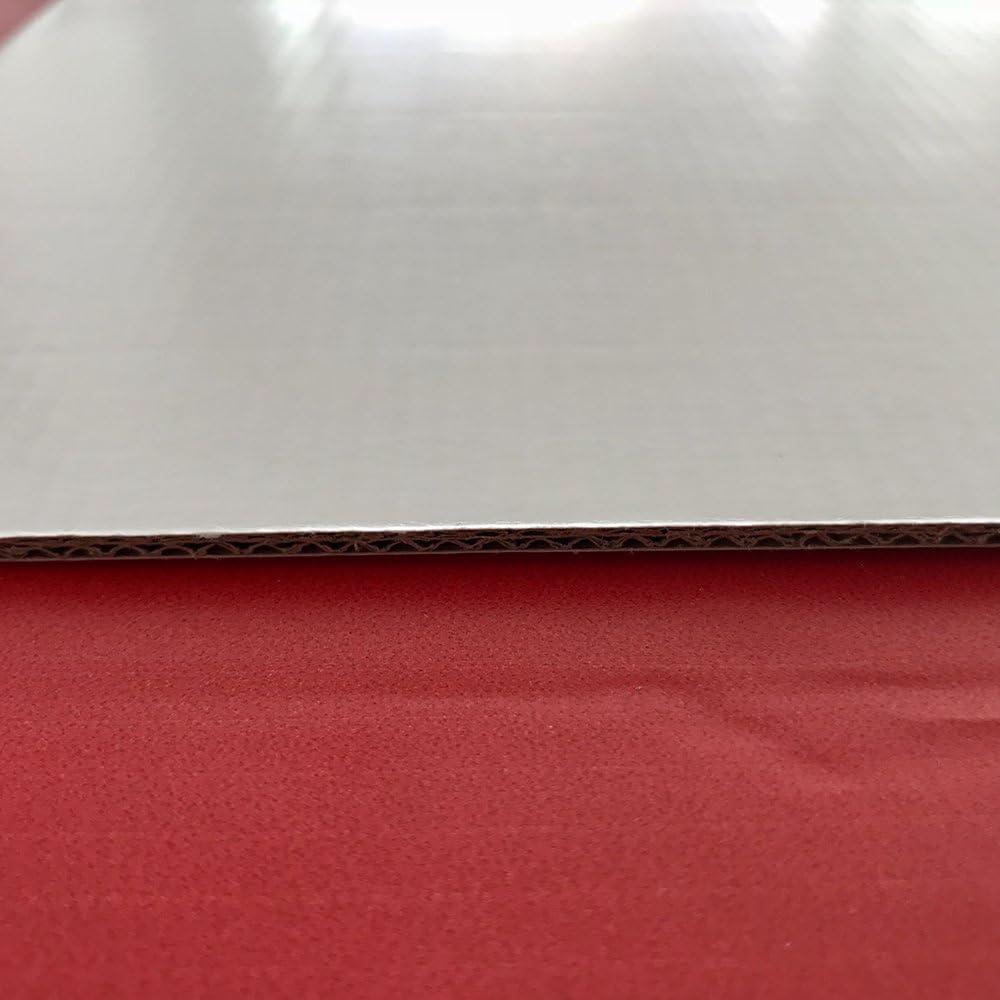 Cabecero cama Cart/ón ecol/ógico Sin Relieve Impresi/ón Digital Cabecero Ligero Resistente y Econ/ómico Zombies rojo y negro 100x60 cm Elegante