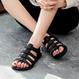 Sunfei Women Summer Beach Holiday Crystal Shoes
