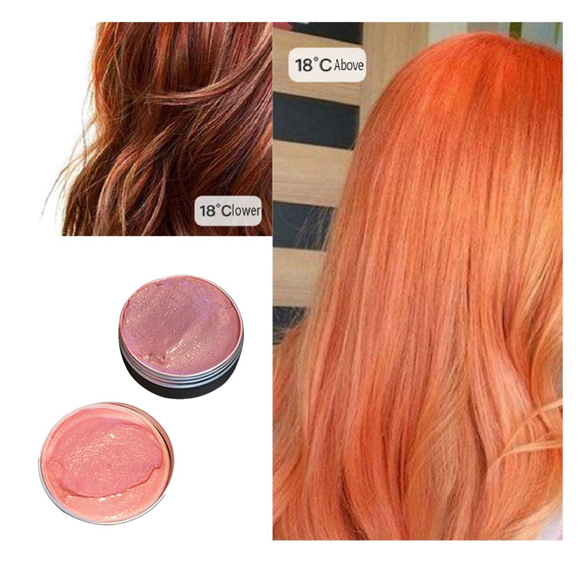 Amazon.com : Hopeg Mild Temperature Changing Hair Does Not ...