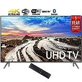 Samsung UN65MU8000FXZA 64.5'' 4K Ultra HD Smart LED TV (2017 Model) + 1 Year Extended Warranty (Certified Refurbished)