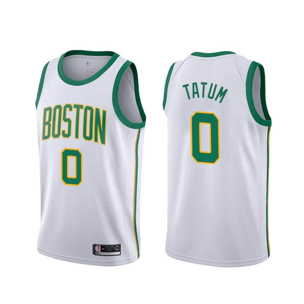 Boston Celtics #0 Trikot Jersey Stickerei Anzug Sommer Basketball Anzug Hemd trikotjerseyNBA Jayson Tatum Tr/ägershirt Fitness