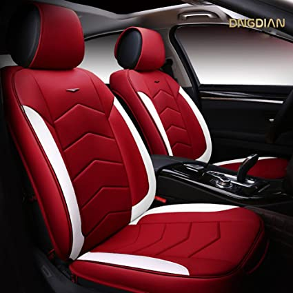 Amazon Com Seemehappy High End Professional Car Seat Covers Leather
