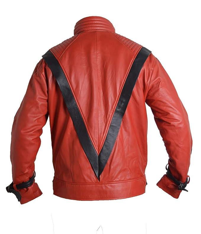 Red Wolf Michael Jackson Thriller - Chaqueta de Piel ...