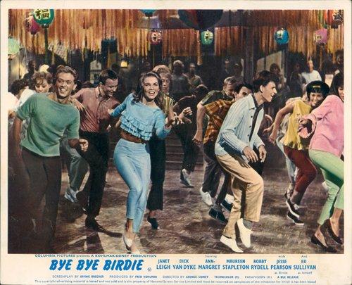 BYE BYE BIRDIE ANN-MARGRET DANCING RARE ORIGINAL LOBBY CARD