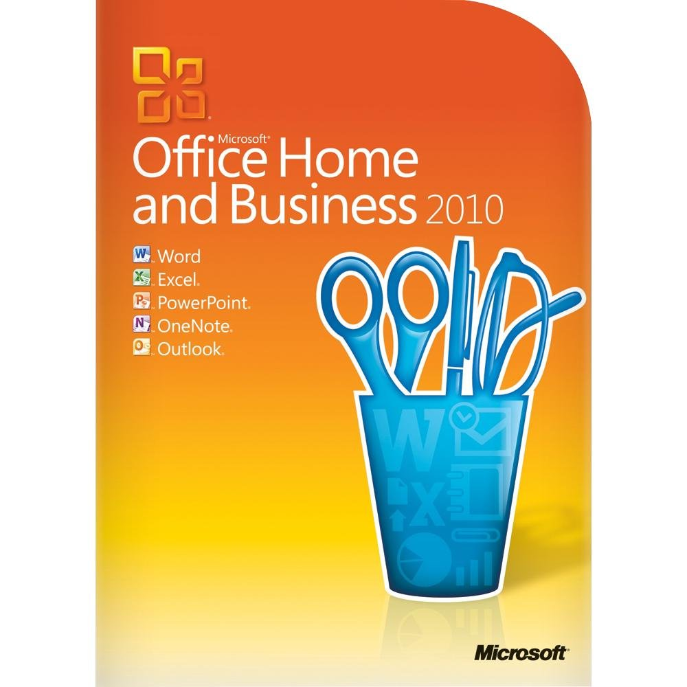 Amazon.com: Microsoft Office Home & Business 2010 - 2PC/1User (one desktop  and one portable) (Disc Version): Software