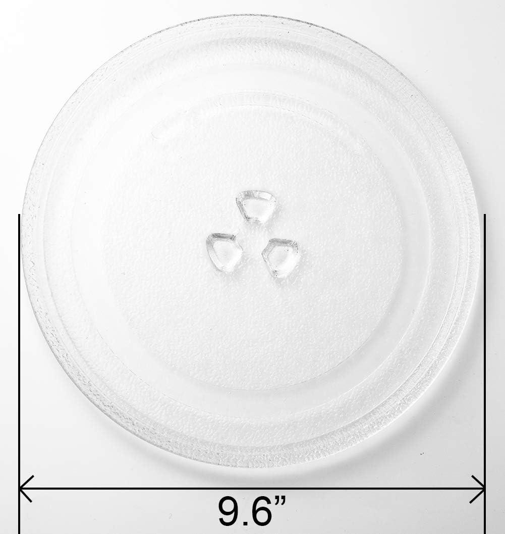 Amazon.com: HapWay - Plato de cristal para microondas ...