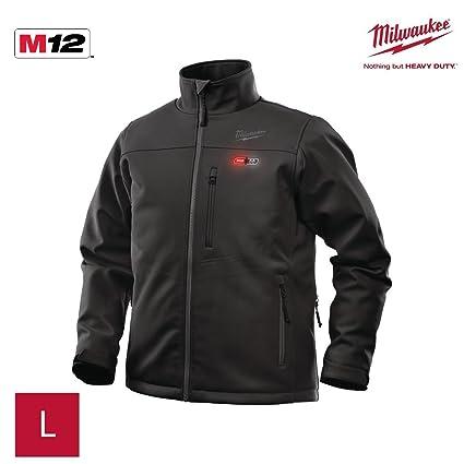 Milwaukee M12Hjbl3-0(L) - Chaqueta calefactable negra premium ver-0