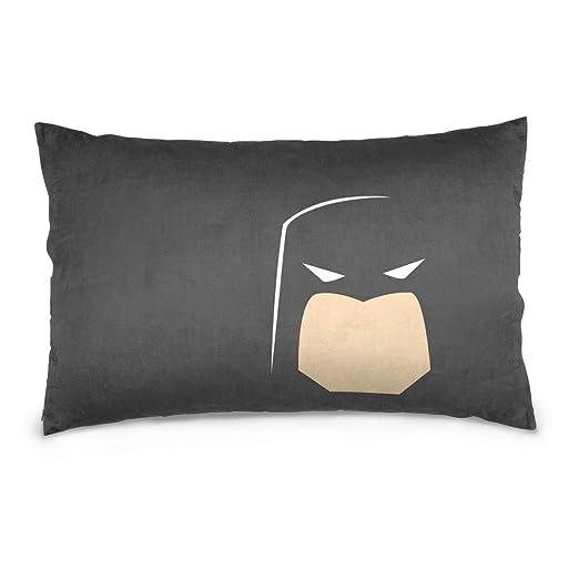 Xinxin Batman patrón throwpillow caso cojín de terciopelo ...