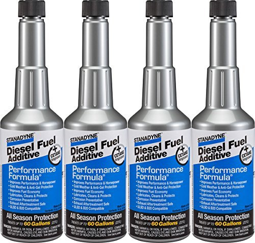 Stanadyne Performance Formula Diesel Fuel Additive - Pack of 4 Pint Bottles - Part # 38565 by Stanadyne