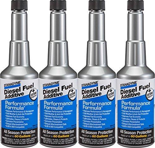 Duramax Diesel Fuel Economy - Stanadyne Performance Formula Diesel Fuel Additive - Pack of 4 Pint Bottles - Part # 38565