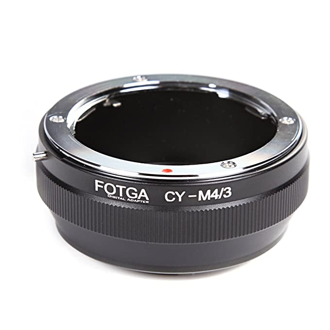 Haoge Manual Lens Mount Adapter for Konica AR Mount Lens to Olympus and Panasonic Micro Four Thirds MFT M4//3 M43 Mount Camera