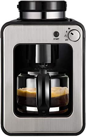 Bean To Cup Anti-Drip automático Mini cafetera - 0.58l Negro: Amazon.es: Hogar