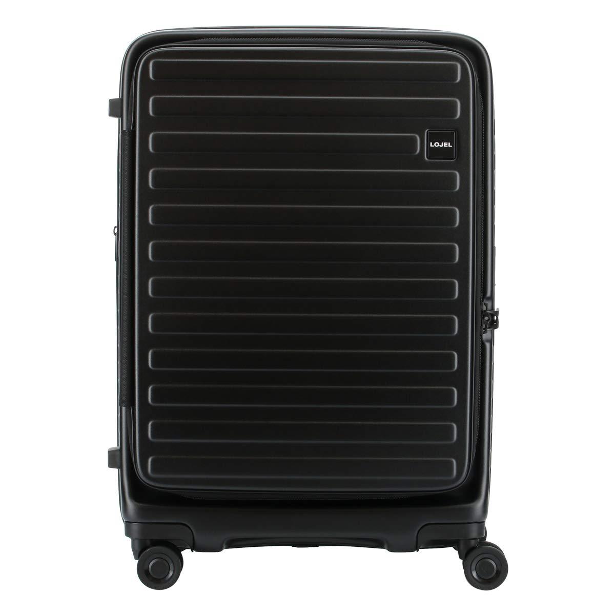 [ロジェール] スーツケース CUBO-M Mサイズ 70L/77L 62cm 3.9kg B07RMHSVT1 ブラック