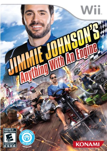 Jimmie Johnson's Anything With An Engine - Nintendo Wii (Games Nascar Wii The For)