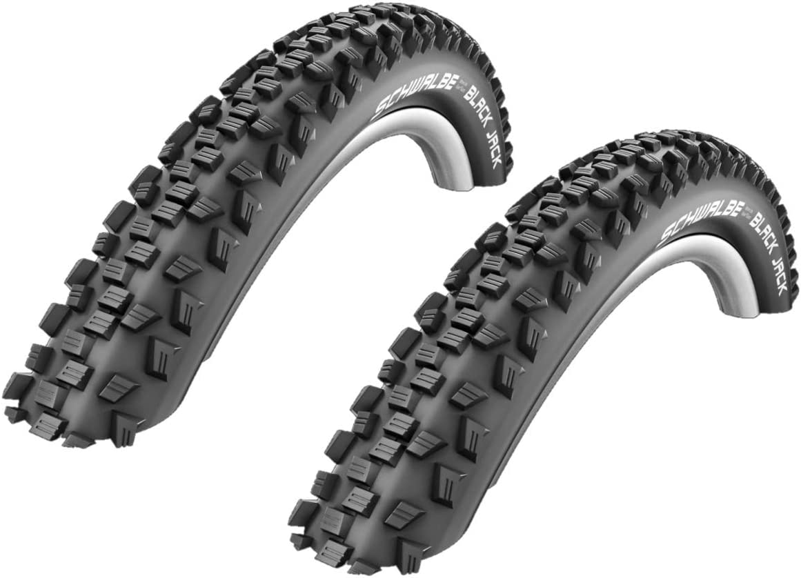 01022613s2 2x Schwalbe Black Jack Neumático de la bicicleta ...