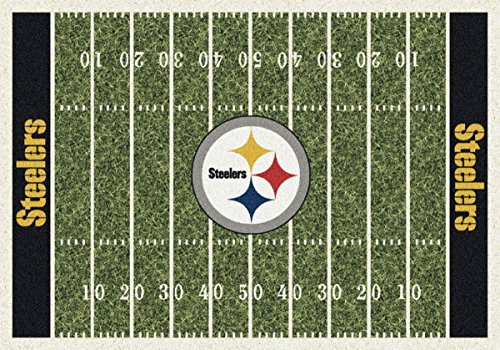 NFL Team Home Field Area Rug by Milliken, 7'8