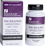 Rejuvicare Hair, Skin & Nails Beauty Formula with Biotin, Collagen Building Vitamins and Minerals, 30 servings