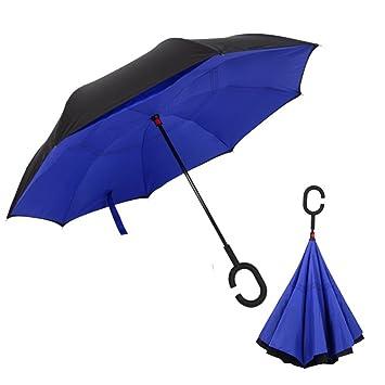alquar paraguas invertido azul