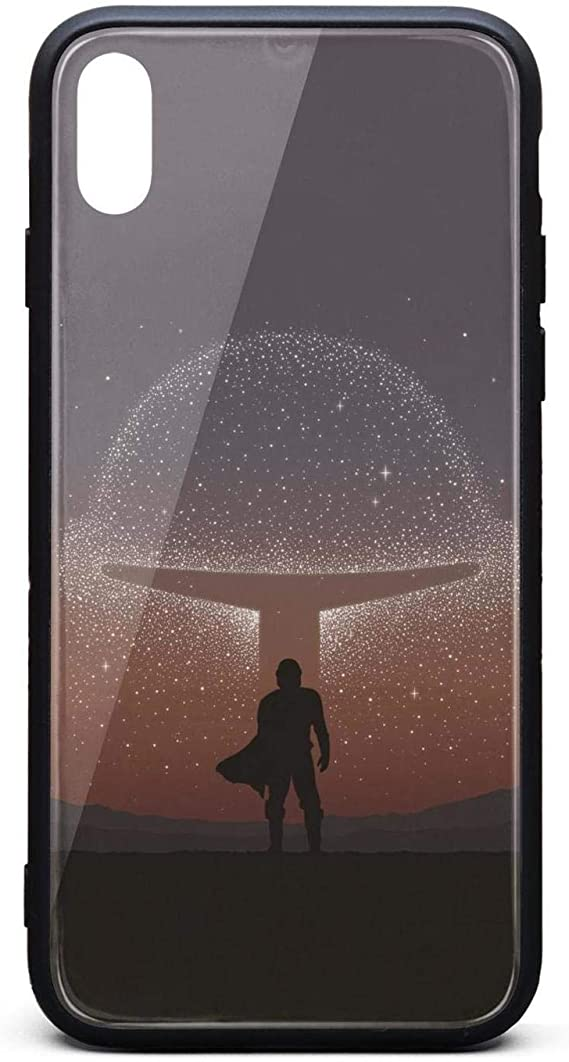 Amazon Com Personalised Mobile Case For Iphone Xs Max The Mandalorian Poster Wallpaper Unisex Protective Tempered Glass Black Anti Scratch Tpu Rubber Bumper Shock Accessories Back Cover
