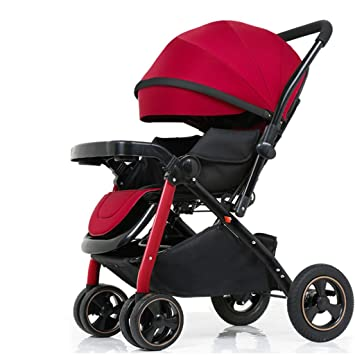 QQB &Carro Plegable Carro de bebé reclinable Ligero Plegable Mano ...