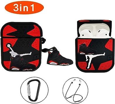 Amazon Com Aj Airpods Case Cute Cool Design 3d Fashion Character