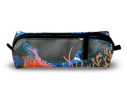 Amazon.com : Graffiti Whale Pencil Case, Big Capacity Pen ...